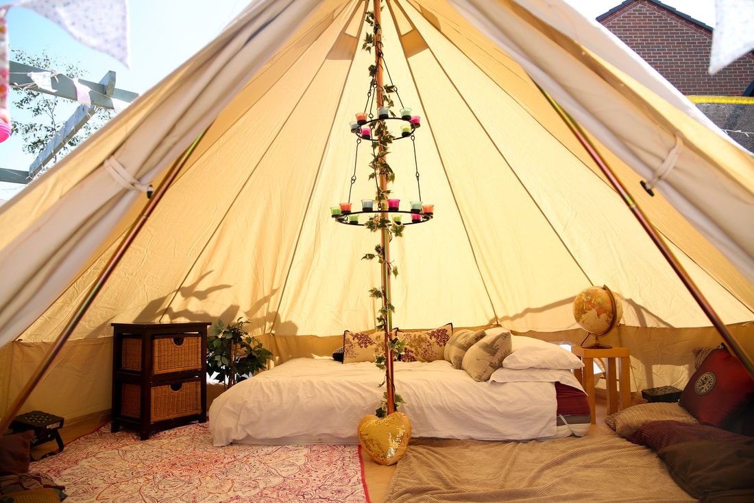 Bell Tent Hire Warwickshire